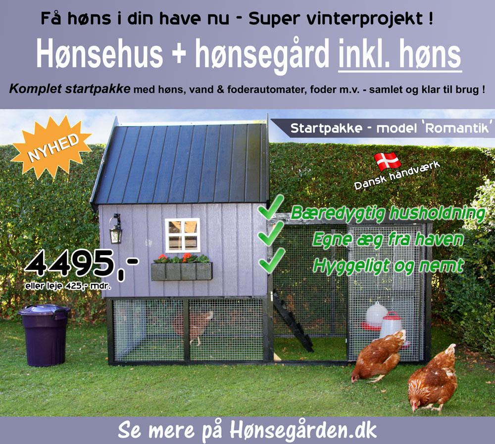 Hønsehus til haven