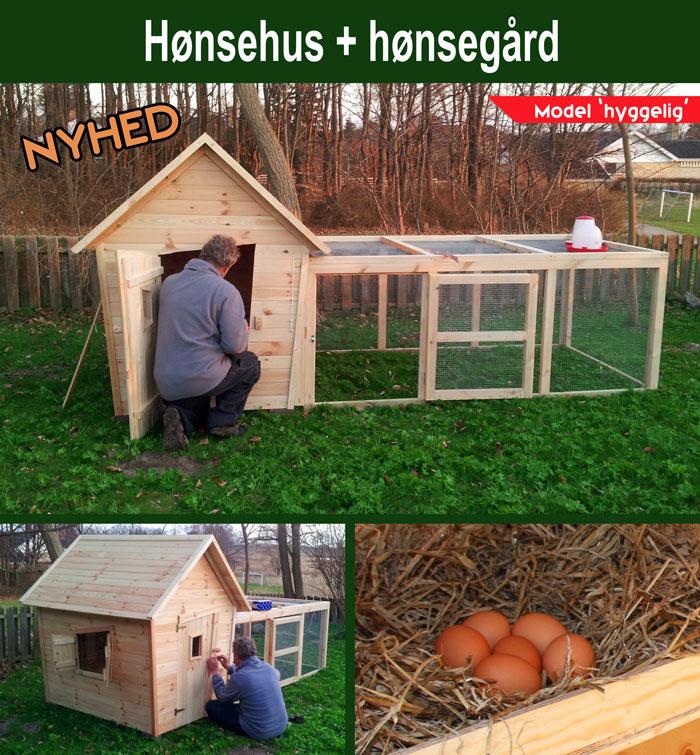 Hønsehuse til salg