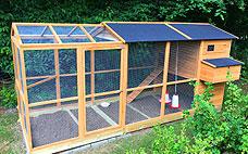 Hønsehus til salg