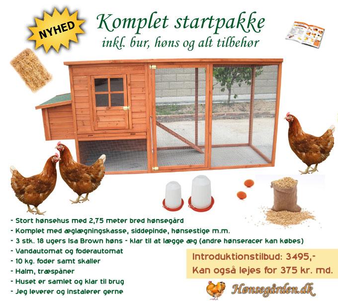 hønsehus salg udlejning